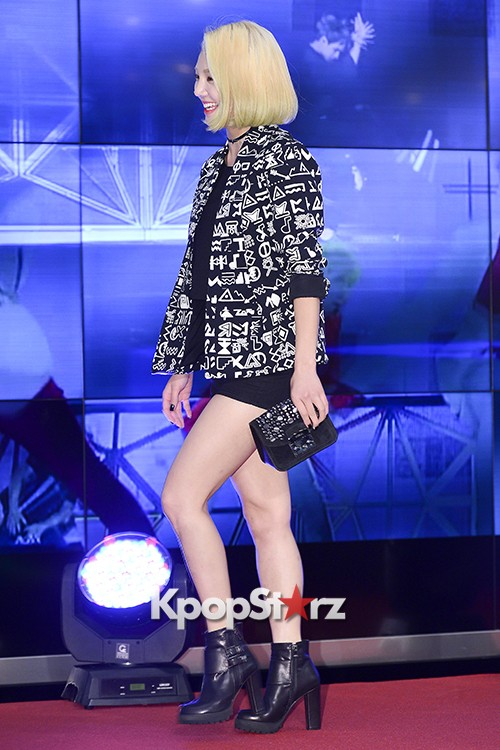 Girls Generation[SNSD] Hyoyeon Attends 2015 SMTOWN Screen Show in Seoulkey=>7 count18