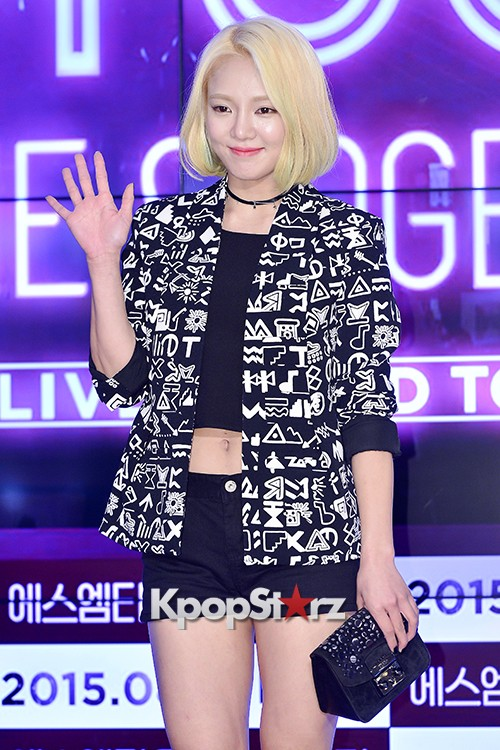 Girls Generation[SNSD] Hyoyeon Attends 2015 SMTOWN Screen Show in Seoulkey=>8 count18