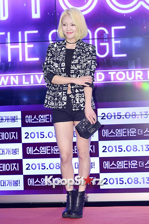 Girls Generation[SNSD] Hyoyeon Attends 2015 SMTOWN Screen Show in Seoulkey=>9 count18