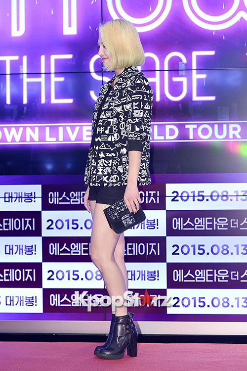 Girls Generation[SNSD] Hyoyeon Attends 2015 SMTOWN Screen Show in Seoulkey=>11 count18