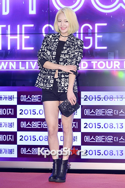 Girls Generation[SNSD] Hyoyeon Attends 2015 SMTOWN Screen Show in Seoulkey=>12 count18