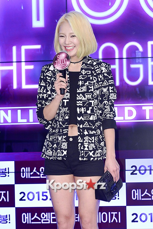 Girls Generation[SNSD] Hyoyeon Attends 2015 SMTOWN Screen Show in Seoulkey=>13 count18