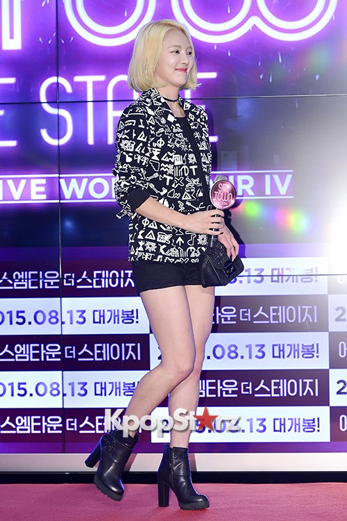 Girls Generation[SNSD] Hyoyeon Attends 2015 SMTOWN Screen Show in Seoulkey=>17 count18