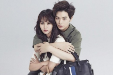 BTOB's Yook Sungjae Poses With Kim So Hyun HAZZYS 2015 Fall-Winter Lookbook Collection