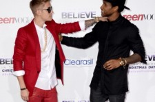 Justin Bieber and Usher.