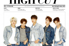 SHINee High Cut Magazine Vol. 156 September Photoshoot American Apparel