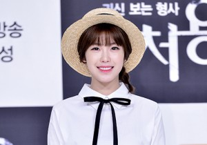 SECRET's Jun Hyosung at a Press Conference of OCN Drama 'Cheo Yong'