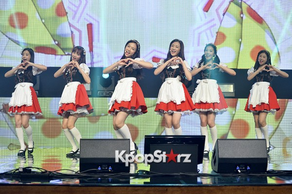 DSP Girl Group APRIL Debut Showcase [Performance] key=>36 count56