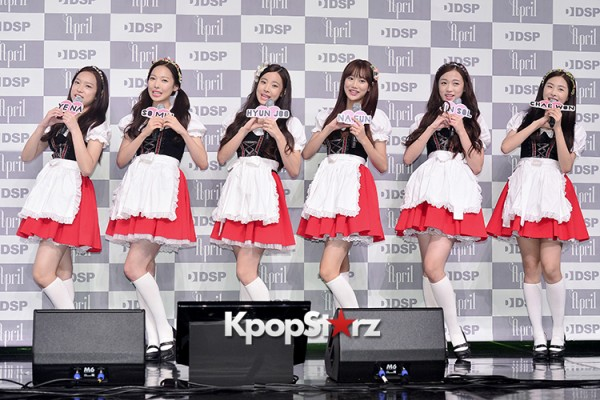 DSP Girl Group APRIL Debut Showcase [Phototime]key=>1 count32