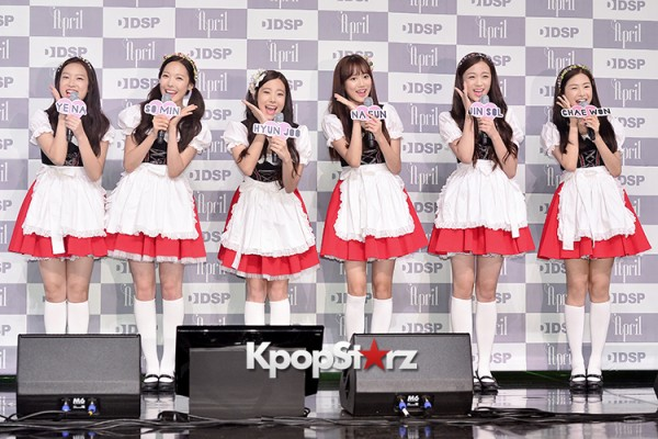 DSP Girl Group APRIL Debut Showcase [Phototime]key=>2 count32