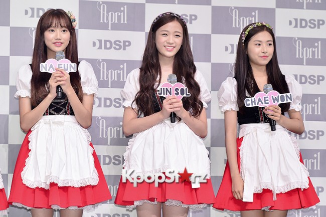 DSP Girl Group APRIL Debut Showcase [Phototime]key=>5 count32