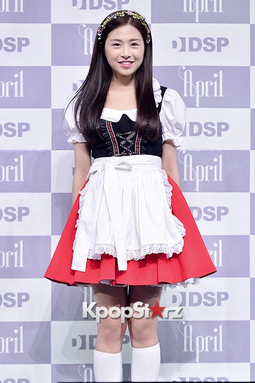 DSP Girl Group APRIL Debut Showcase [Phototime]key=>11 count32