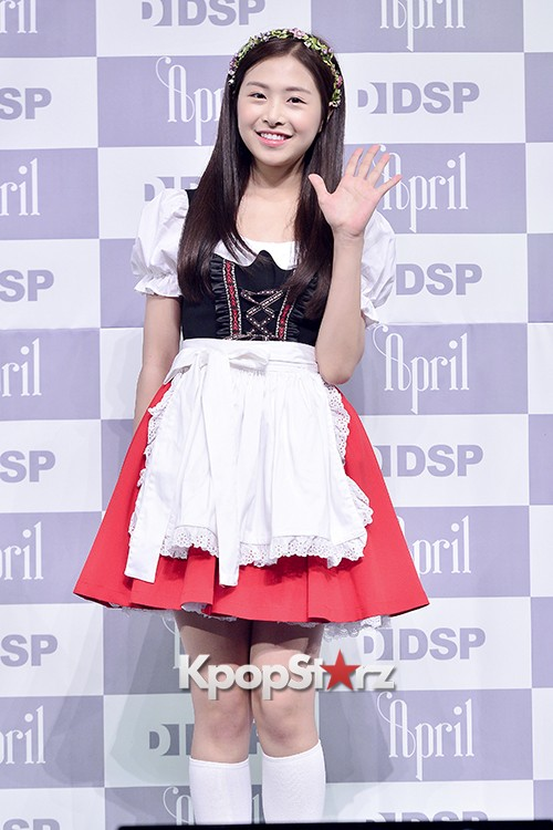 DSP Girl Group APRIL Debut Showcase [Phototime]key=>15 count32