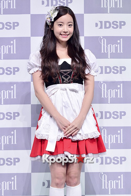 DSP Girl Group APRIL Debut Showcase [Phototime]key=>16 count32