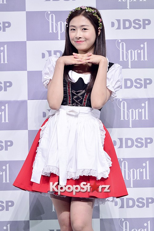 DSP Girl Group APRIL Debut Showcase [Phototime]key=>23 count32