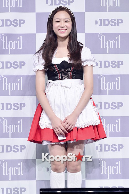 DSP Girl Group APRIL Debut Showcase [Phototime]key=>25 count32