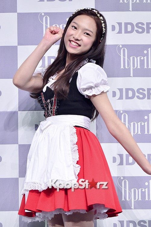 DSP Girl Group APRIL Debut Showcase [Phototime]key=>26 count32