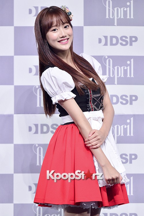DSP Girl Group APRIL Debut Showcase [Phototime]key=>27 count32