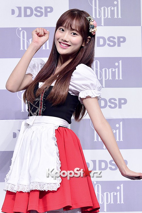 DSP Girl Group APRIL Debut Showcase [Phototime]key=>28 count32