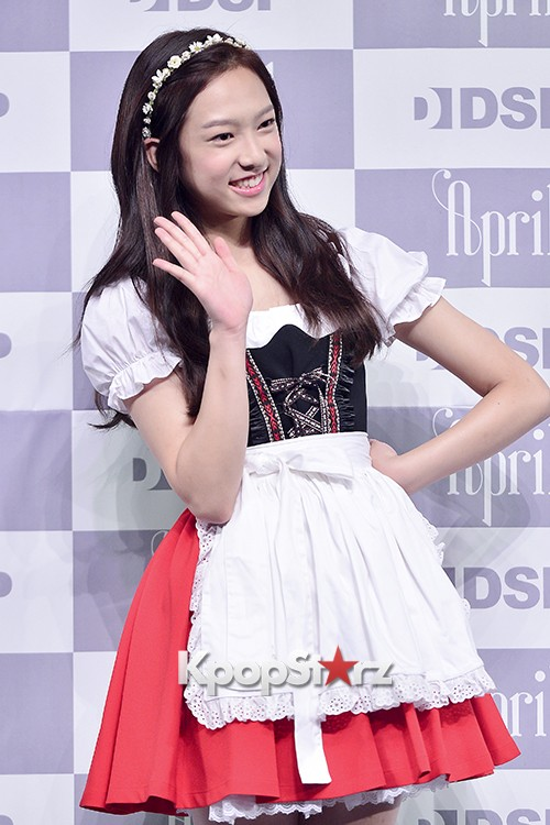 DSP Girl Group APRIL Debut Showcase [Phototime]key=>31 count32