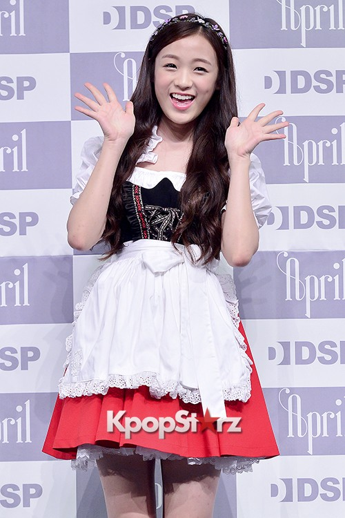 DSP Girl Group APRIL Debut Showcase [Talk]key=>30 count47
