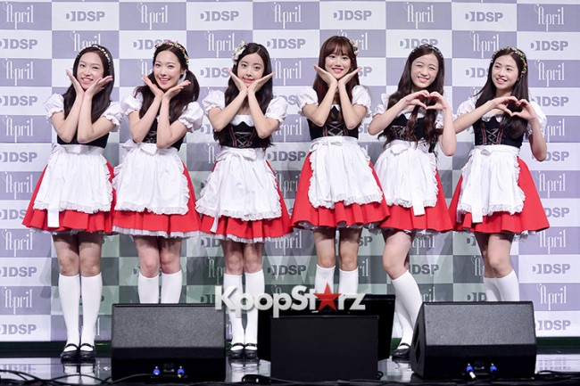 DSP Girl Group APRIL Debut Showcase [Talk]key=>36 count47