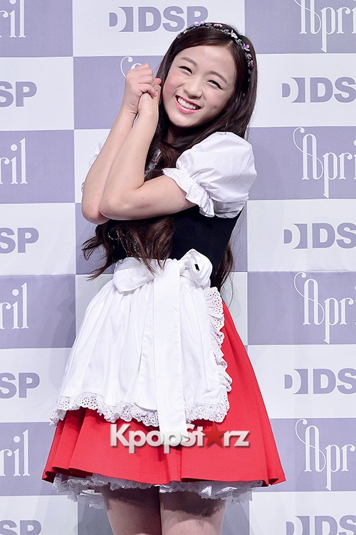 DSP Girl Group APRIL Debut Showcase [Talk]key=>37 count47