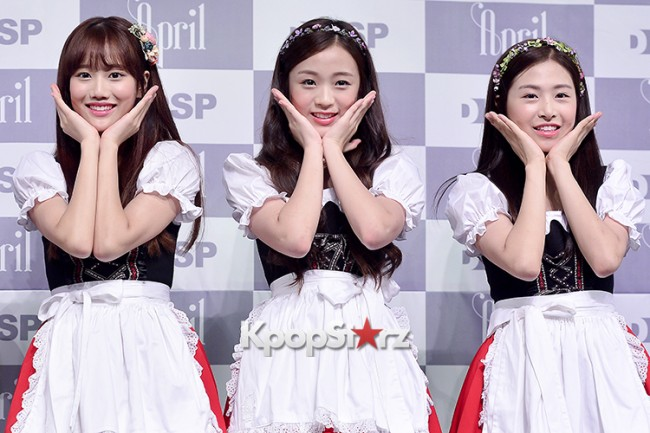 DSP Girl Group APRIL Debut Showcase [Talk]key=>38 count47