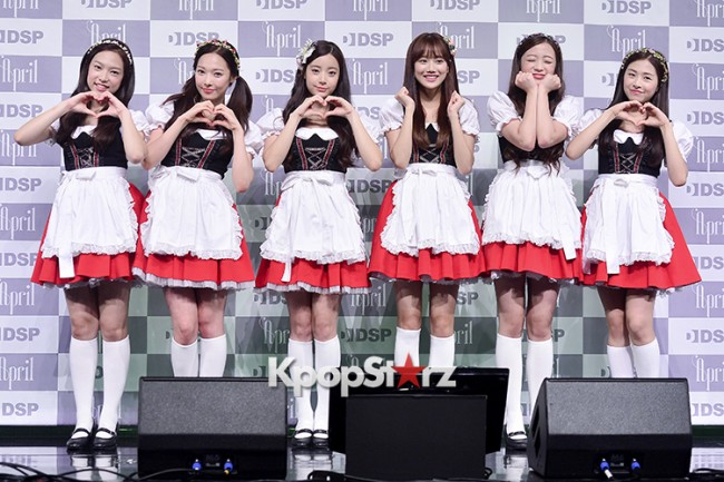 DSP Girl Group APRIL Debut Showcase [Talk]key=>39 count47