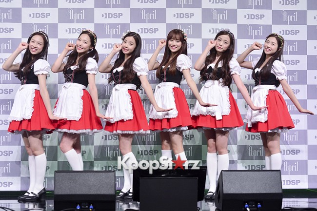 DSP Girl Group APRIL Debut Showcase [Talk]key=>40 count47