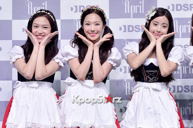 DSP Girl Group APRIL Debut Showcase [Talk]key=>43 count47