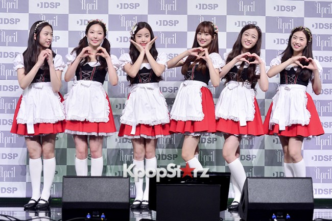 DSP Girl Group APRIL Debut Showcase [Talk]key=>44 count47