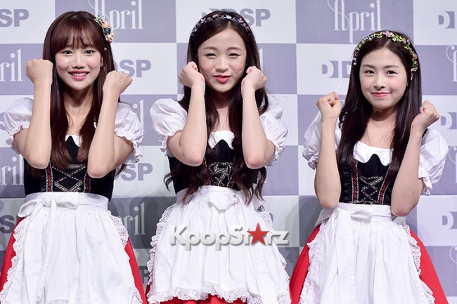 DSP Girl Group APRIL Debut Showcase [Talk]key=>45 count47