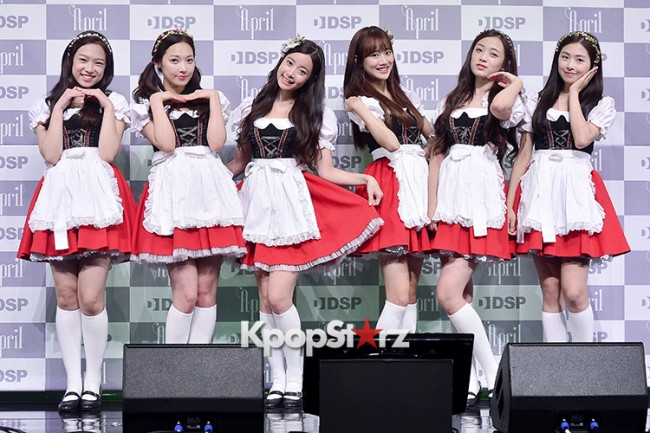 DSP Girl Group APRIL Debut Showcase [Talk]key=>46 count47