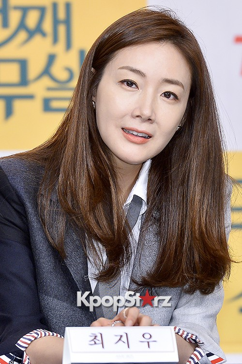 Choi Ji Woo at a Press Conference of tvN Drama '20 Years Old Again'key=>15 count24