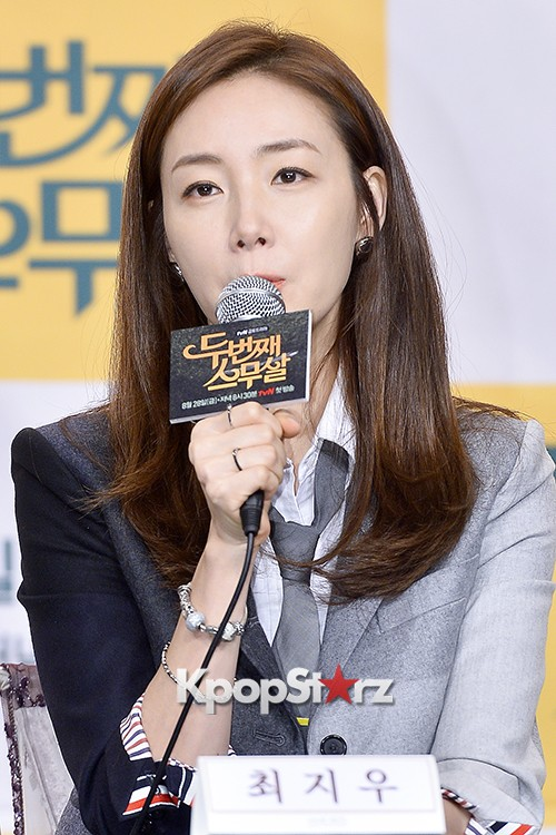 Choi Ji Woo at a Press Conference of tvN Drama '20 Years Old Again'key=>17 count24