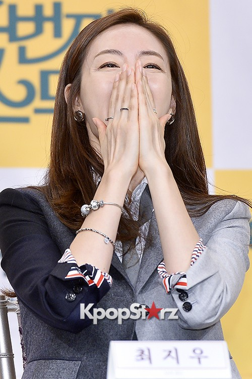 Choi Ji Woo at a Press Conference of tvN Drama '20 Years Old Again'key=>18 count24