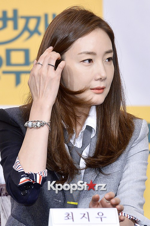 Choi Ji Woo at a Press Conference of tvN Drama '20 Years Old Again'key=>20 count24