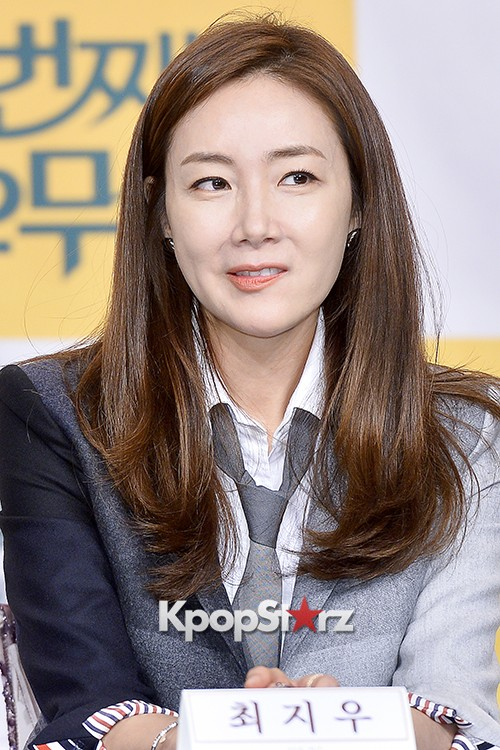Choi Ji Woo at a Press Conference of tvN Drama '20 Years Old Again'key=>23 count24