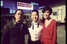 Linkin Park Joe Hahn Takes Picture with 'Gangnam Style' Psy