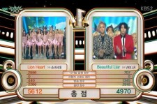 Girls' Generation defeat VIXX LR on 'Music Bank'