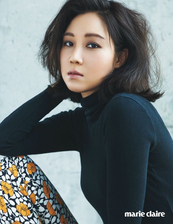 Gong Hyo Jin Shows Vintage Beauty Looks In Marie Claire News Kpopstarz