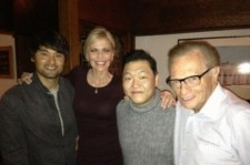 Psy Reveals Picture with Larry King and Park Chan Ho, 'Endless World Connections'