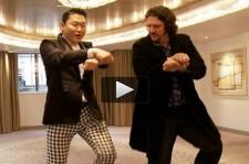 Psy and Jay Rayner