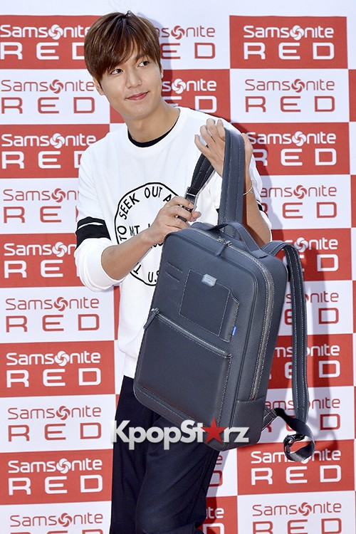 Lee Min Ho at Samsonite Red Fansign Event key=>4 count29