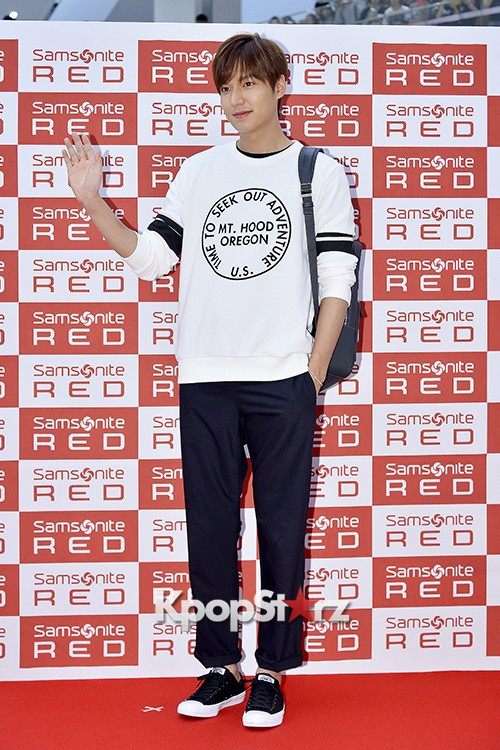 Lee Min Ho at Samsonite Red Fansign Event key=>8 count29