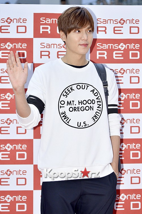 Lee Min Ho at Samsonite Red Fansign Event key=>11 count29