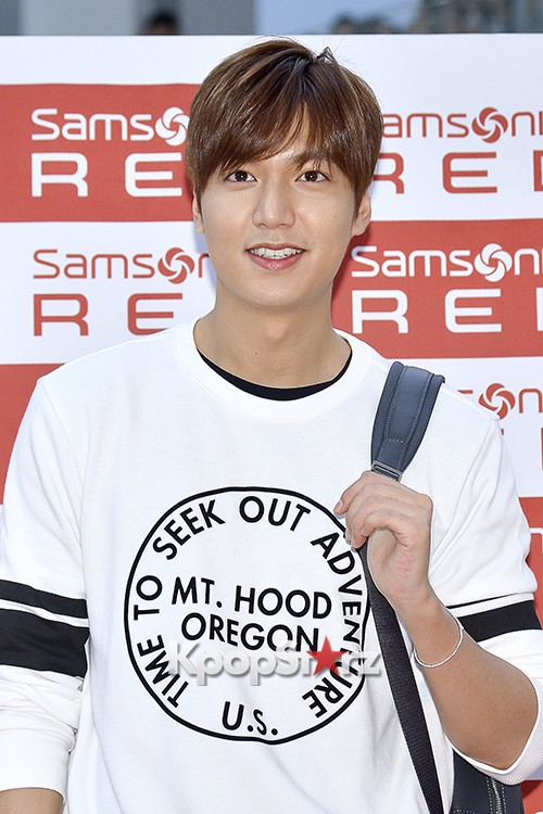 Lee Min Ho at Samsonite Red Fansign Event key=>13 count29