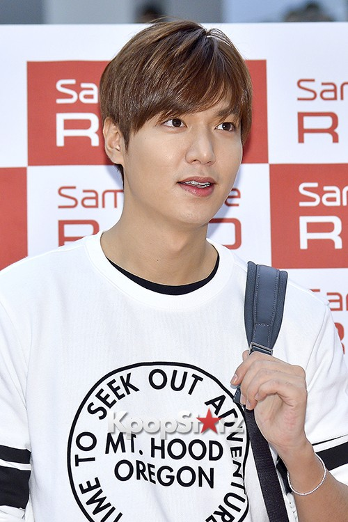 Lee Min Ho at Samsonite Red Fansign Event key=>14 count29