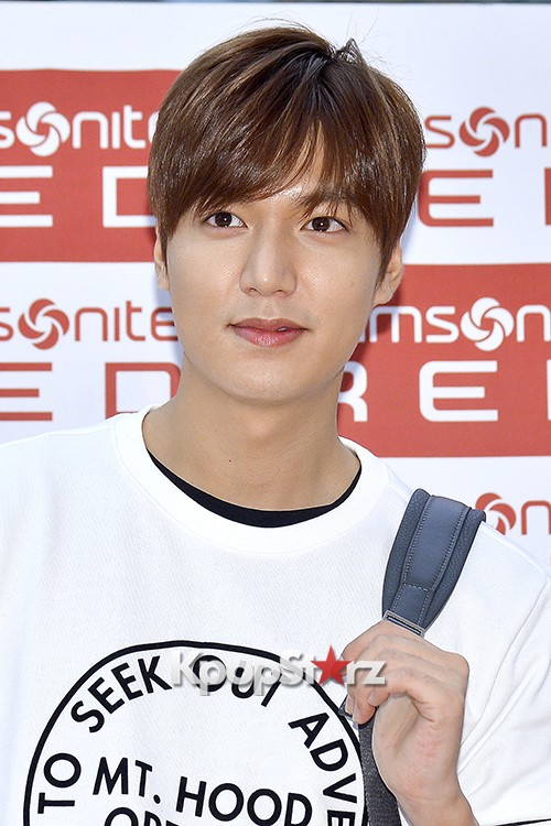 Lee Min Ho at Samsonite Red Fansign Event key=>17 count29